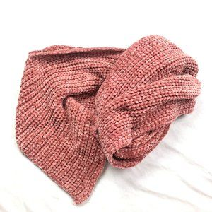 Altar'd State Dusty Rose Chenille Scarf